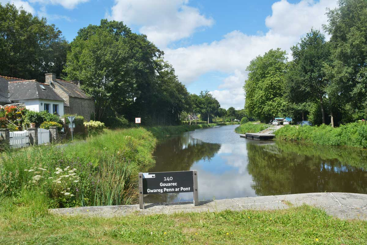Canal de Nantes à Brest (Centre Bretagne)